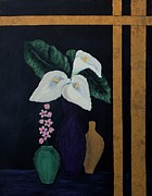 Barbara Griffin - Still Life with Calla Lilies