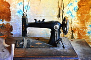 Treadle Prints - Stitch in Time Print by Lauren Hunter