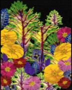 Primroses Mixed Media Posters - Story Book Forest Poster by Kathie McCurdy