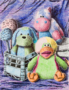Jeanette Kabat - Stuffed Toy Still Life