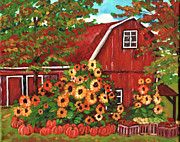 Arkansas Paintings - Summers Harvest by Marla Hoover