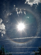 Jet Star Photo Metal Prints - Sun Halo Metal Print by Lainie Wrightson