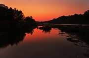 Pictures Photo Originals - Sunrise Creek by Paul Huchton