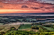 Annapolis Valley Posters - Sunrise over the Valley Poster by David Elliott