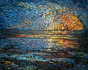 Seurat Originals - Sunset Before the Storm by Michael Graham