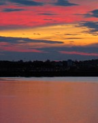 Patricia Sundik - Sunset On Casco Bay Maine