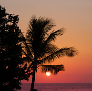 Fototrav Print - Sunset on Kuta beach Bali Indonesia