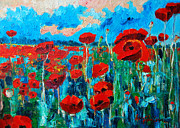 Ana Maria Edulescu - Sunset Poppies