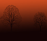 Kate Farrant - Sunset Trees