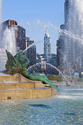 David  Zanzinger - Swann Fountain Logan Circle -...