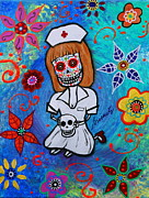 Pristine Cartera Turkus - Sweet Nurse day of the dead