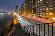 Fdr Drive Prints - Taking The Steps  Print by Mike Orso