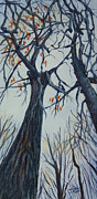 Janet Felts Painting Metal Prints - Tall Trees Metal Print by Janet Felts