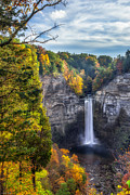 Waterfall Art - Taughannock Fall 3 by Mark Papke