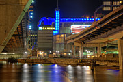 Professional Basketball Prints - TD Garden - Boston Print by Joann Vitali