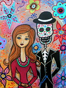 Pristine Cartera Turkus - Te Amo Couple Day Of The Dead