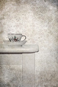 Porcelain Prints - Tea Cup Print by Joana Kruse