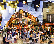 Pub Mixed Media - Temple Bar Pub Dublin by Sean de Burca