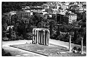 Greek School Of Art Framed Prints - Temple of Zeus II Framed Print by John Rizzuto