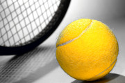 Game Photo Prints - Tennis Print by Olivier Le Queinec
