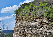 Luther Fine Art - Texas - Layered Cliff - Luther Fine Art