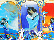 Annunciation Originals - The annunciation by Lucia Hoogervorst