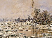Claude Monet - The Break-up of the Ice