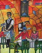 Waiter Originals - The Cafe Rouge by Neena Alapatt
