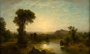Famous Artists - The Catskill Valley by Asher Brown Durand