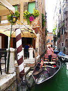 Watercolor Map Photos - The Colors Of Venice by Irina Sztukowski