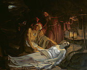 Deathbed Art - The Death of Atala by Cesare Mussini