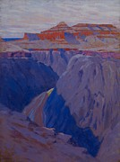 Red Rock Paintings - The Destroyer by Arthur Wesley Dow