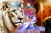 Lion Of Judah Posters - The Fathers Love Poster by Dolores DeVelde