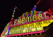 Movie Theater Framed Prints - The Fremont Framed Print by Caitlyn  Grasso