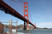 Wingsdomain Art and Photography - The Golden Gate Bridge at Fort Point -...