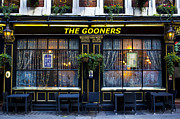 Arsenal Football Posters - The Gooners Pub Poster by David Pyatt