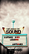 The  White House Digital Art - The House of Sound by Ron Regalado