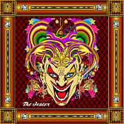 Fraternity Prints - The Jester Version 1 Print by Bill Campitelle