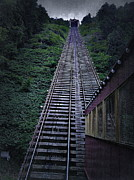 Inclined Prints - The Johnstown Inclined Plane Print by Gary Conner