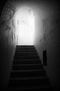 Marilyn Wilson - The Light at the Top of the Stairs - bw
