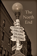 The North Photo Posters - The North End - Boston Poster by Joann Vitali