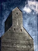 Architecture Textured Art Posters - The Old Granary Poster by Bonnie Bruno