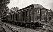 Old Caboose Photos - The Old Standby by Alina Bliach