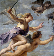 Famous Artists - The Persecution of the Harpies by Erasmus Quellinus II