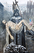 Darth Vader Paintings - The Prophets by Cedric Chambers