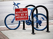 Share Posters - The Revolution Will Not Be Motorized Poster by Rona Black