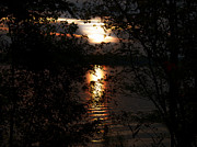 Lake Wylie Prints - The Setting Sun Print by Wendy Davis