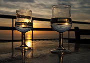 Catalina Lira - The sky in wine glasses of lovers