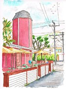 Burger Originals - The Stand Cafeteria in Laguna Beach - California by Carlos G Groppa