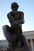 Wingsdomain Art and Photography - The Thinker at San Francisco Palace of...